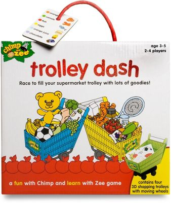 Chimp and Zee Trolley Dash Game