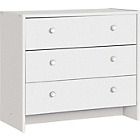 more details on Seville 3 Drawer Chest - White.