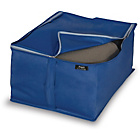 more details on Blue Peva 2 Piece Blanket Storage Set - Small.