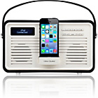 more details on View Quest Retro DAB Radio with Lightning iPod Dock - Black.