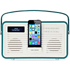 more details on View Quest Retro DAB Radio with Lightning iPod Dock - Teal.