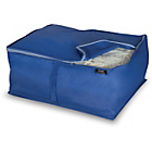 more details on Blue Peva 2 Piece Blanket Storage Set - Medium.