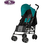more details on Obaby Atlas Black and Grey Stroller - Turquoise.