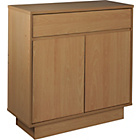 more details on Cubes 2 Door 1 Drawer Small Sideboard - Oak Effect.