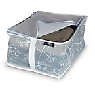 more details on White Leaf Peva 2 Piece Blanket Storage Set - Small.