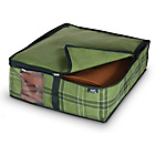 more details on Tartan PP Non Woven 2 Piece Blanket Storage Set - Small.