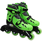 more details on Elektra In Line Boot Skates - Green.