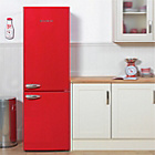 more details on Bush BSFF60 Retro Tall Fridge Freezer - Red.