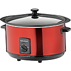 more details on Morphy Richards 461000 6.5L Sear & Stew Slow Cooker - Red.