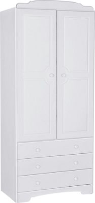 Buy Home Nordic 2 Door 3 Drawer Wardrobe White At Argos