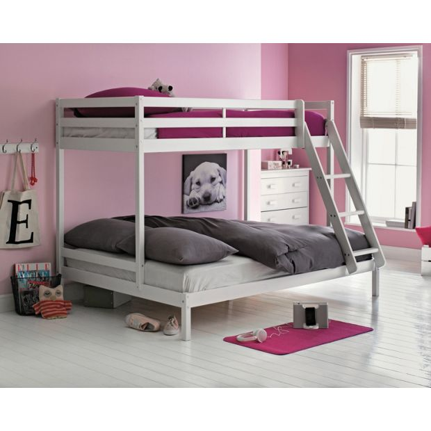 Buy Single and Double Bunk Bed Frame - White at Argos.co ...