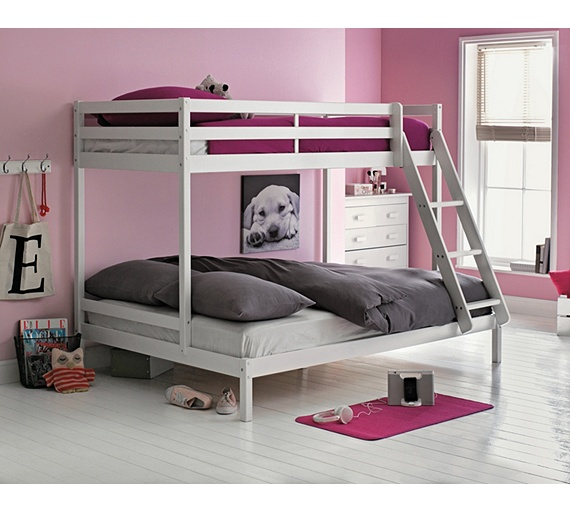 Buy HOME Single And Double Bunk Bed Frame