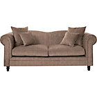 more details on Melody Large Fabric Sofa - Mink.