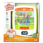 more details on Bright Starts Lights & Sounds Fun Pad Activity Toy.