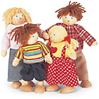 more details on Pintoy Wooden Dolls Family - B.