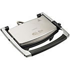 more details on Cookworks 2 Slice Panini Grill - Stainless Steel.