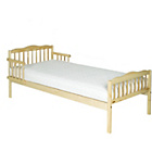 more details on Saplings Natural Wood Toddler Bed - Natural.