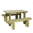 more details on Forest Sleeper Benches and Table Set 1.2m.