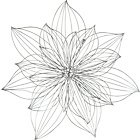 more details on Heart of House Eve Silver Metal Flower Wall Art.