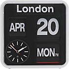 more details on Habitat Flap Small Analogue City Wall Clock.