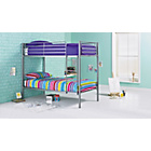 more details on Samuel Single Bunk Bed Frame - Silver.