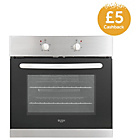 more details on Bush AE6BFS Single Electric Cooker - S/Steel/Store Pick Up.
