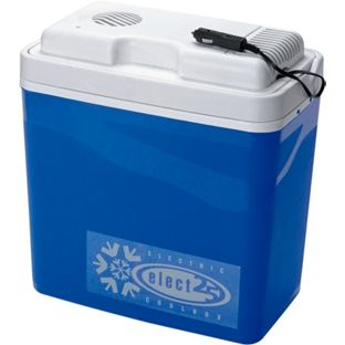 24 Litre Electric Cool Box - Blue
