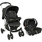 more details on Graco Mirage Travel System Pushchair - Black Zig Zag.