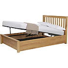 more details on Waldren Double Ottoman Bed Frame - Ash.