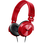 more details on Philips SHL3050RD/00 DJ Style Headphones - Red.