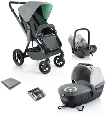 Concord Wanderer Travel Set - Grey