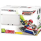 more details on Nintendo 3DS XL White Console with Mario Kart 7.