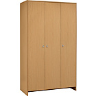 more details on HOME Seville 3 Door Wardrobe - Beech Effect.