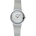 more details on Accurist Ladies' Silver Plated Mesh Strap Watch.