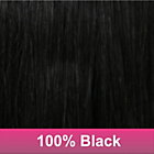 more details on Lauren's Way Hair Extension Colour 1: Black.
