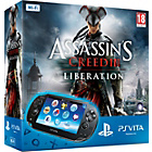 more details on PS Vita Wi-Fi Console, Assassins Creed Liberation & 4GB Mem.