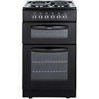 more details on Belling FSE50FDO Double Electric Cooker - Black/Exp.Del.