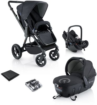 Concord Wanderer Travel Set - Black