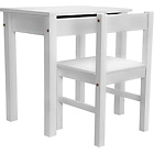more details on Kids Scandinavia Desk and Chair - White.