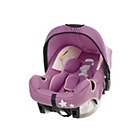 more details on Tiny Tatty Teddy Group 0+ Car Seat - Dusky Pink.