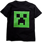 more details on Minecraft Boys' Black Creeper Glow T‑Shirt.