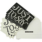 more details on Emma Bridgewater Black Toast Correspondence Cards.