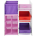 more details on Multifunction Combo Storage Unit - Pink.