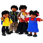 more details on Pintoy Wooden Dolls Family - A.