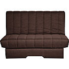 more details on Elizabeth Fabric Metal Action Sofa Bed - Chocolate.