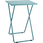 more details on Habitat Airo Metal Folding Table - Sea Blue.