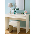 more details on Schreiber Desk Dressing Table - Ivory.