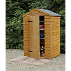 Forest 4x3ft Wooden Overlap Shed