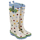 more details on Emma Bridgewater Women's Tall Spot Wellies - Size 4.