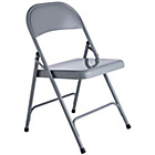 more details on Habitat Macadam Grey Metal Folding Chair.